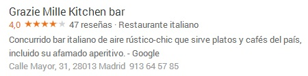 Reseña Google Plus Local