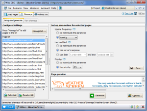 web ceo editor html