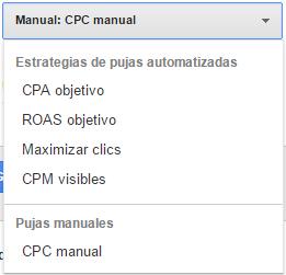 Opciones CPC