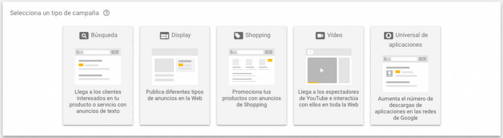 crear campaña de display en google adwords