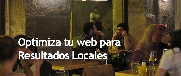 Optimiza tu web para mejorar tus resultados SEO locales