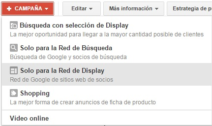remarketing estandar google adwords