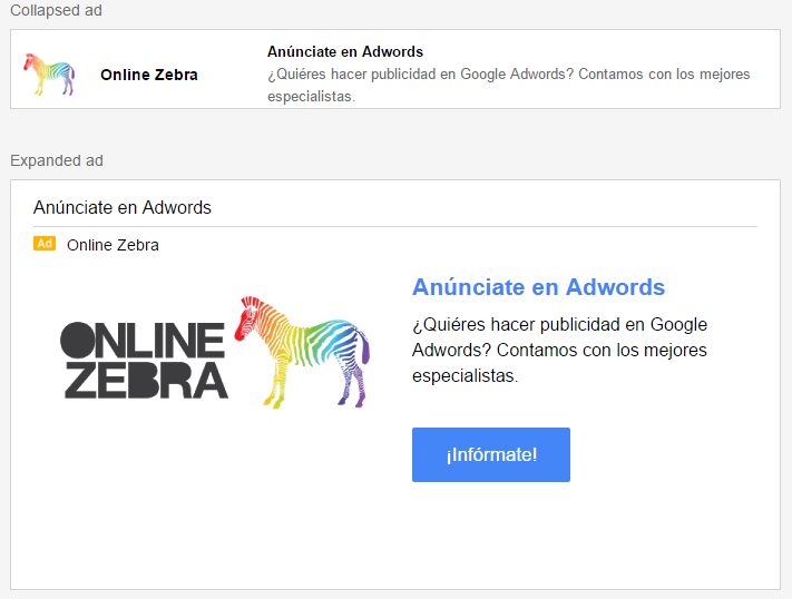 crear anuncio gmail ads