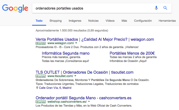 Como funciona google adwords