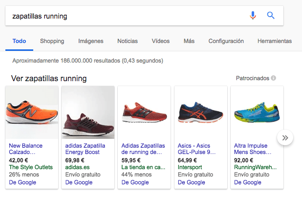 vender en google shopping