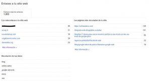 Herramientas link Building externo - Google Search Console