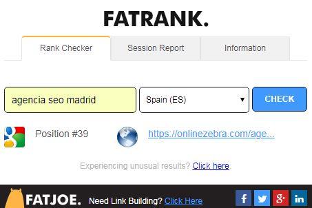 Extensión Fat Rank