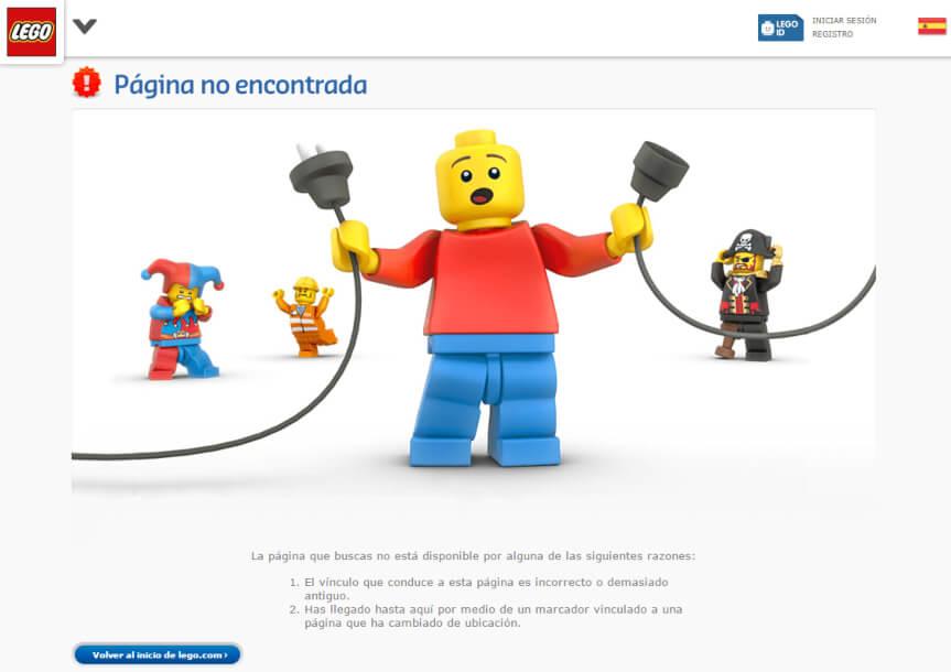 http error 404 not found - Lego