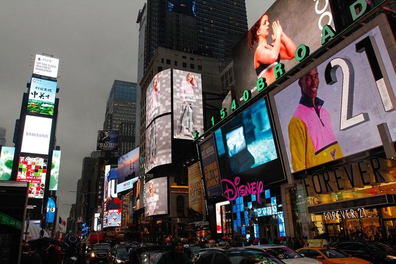 Anuncios publicitarios ciudad