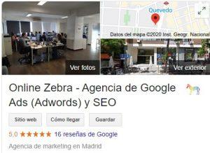 ficha google my business