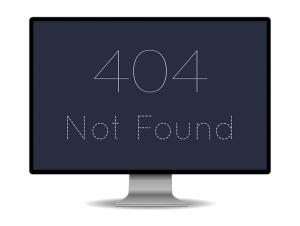 corregir 404