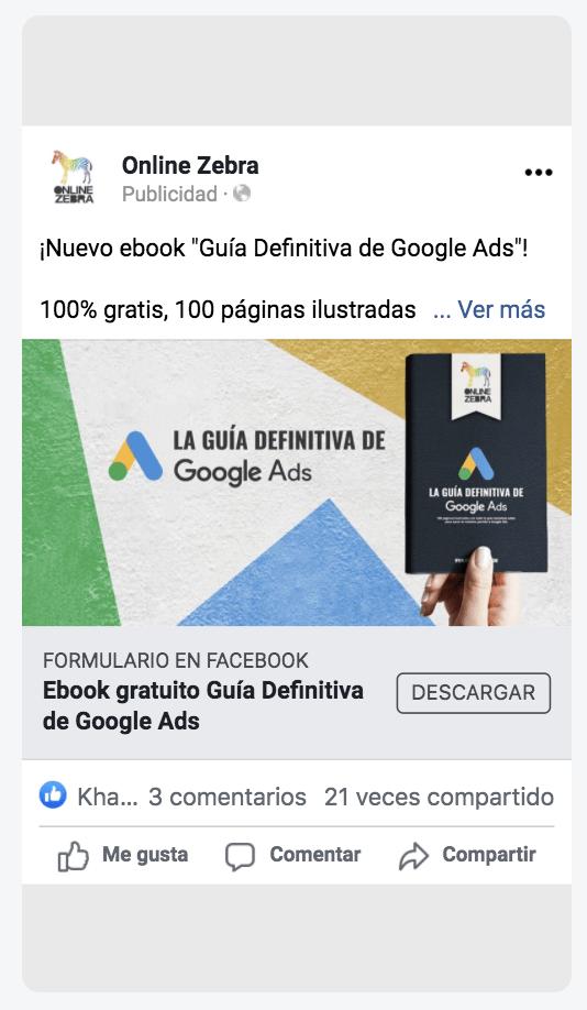 anuncio lead ads