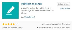 highlight and share