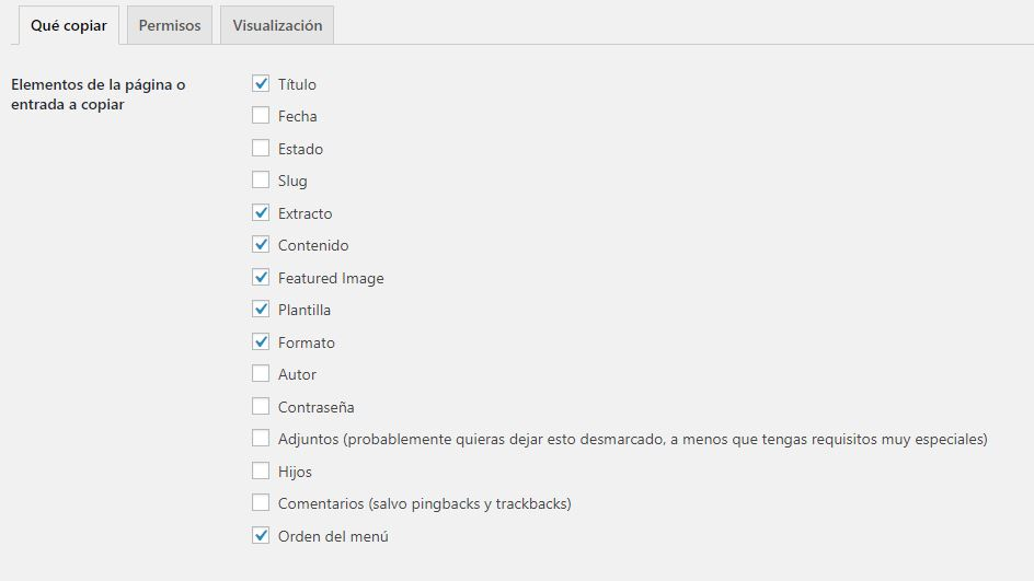 yoast duplicate post configuracion