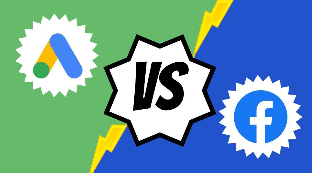 Facebook Ads VS Google Ads: ¿Cuál me conviene más?