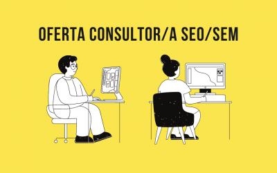 Oferta de empleo Consultor/a SEO/SEM