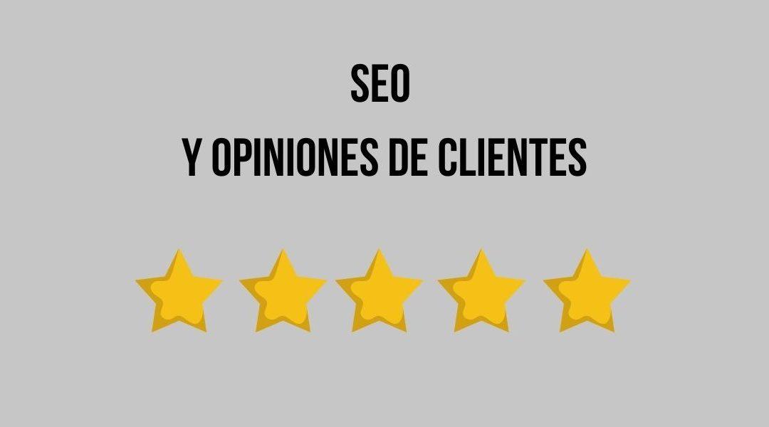 SEO y opiniones de clientes
