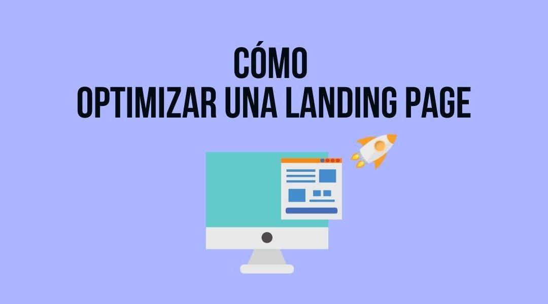 Optimizar landing page