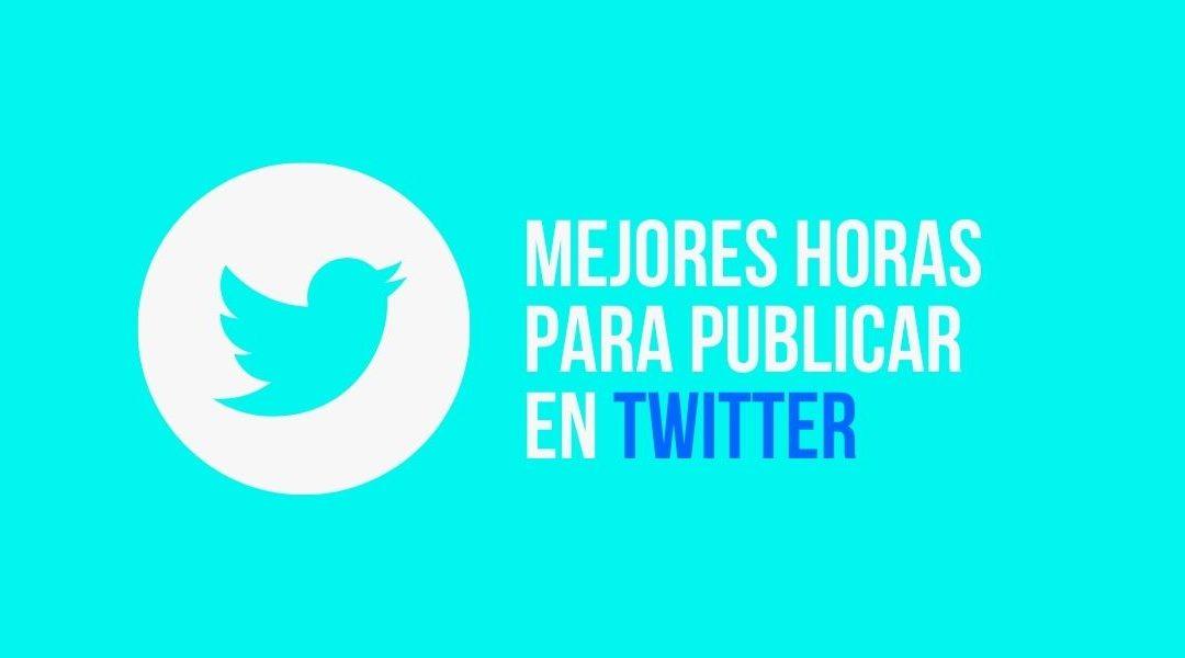 a qué hora publicar en Twitter