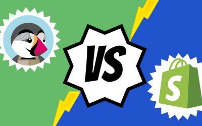 PrestaShop VS Shopify: Comparativa entre las dos plataformas de e-commerce