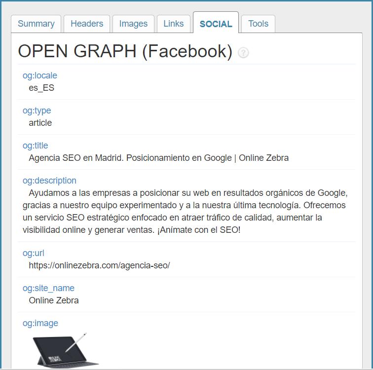 herramienta seo on page